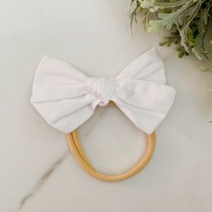 Other - New Soft elastic hair bow